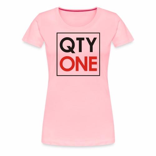 QTYONE Logo - Women's Premium T-Shirt