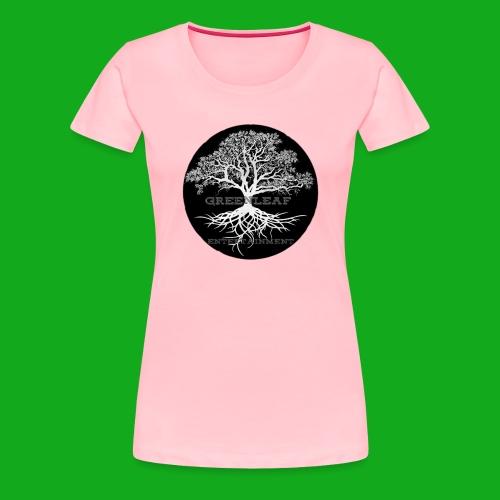 Greenleaf Wear Black logo - Women's Premium T-Shirt