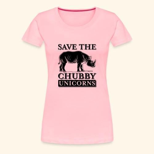 Chubby Unicorns - Women's Premium T-Shirt