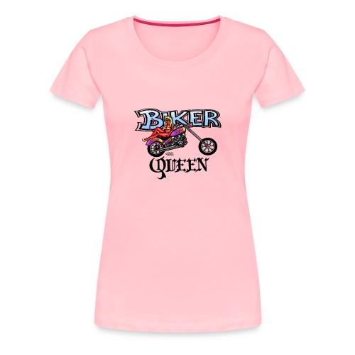 Biker Queen - Women's Premium T-Shirt