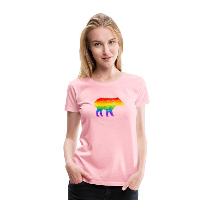 Tapir Pride colors