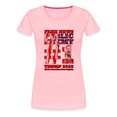 FakeNews - Women's Premium T-Shirt
