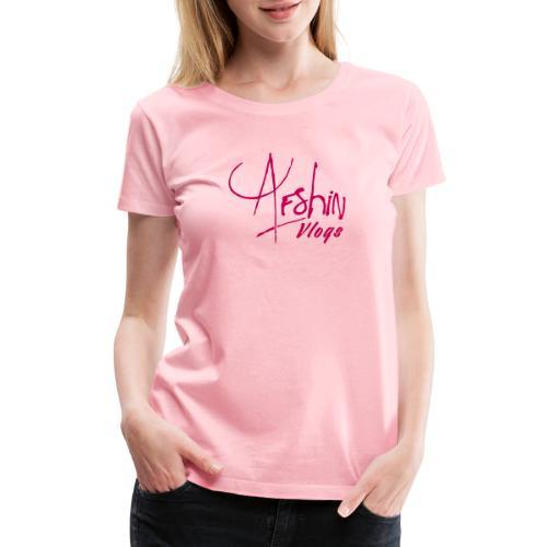 Afshin Vlogs Merchandise - Women's Premium T-Shirt
