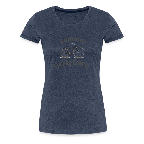 Summer Cycling Champ - Women's Premium T-Shirt