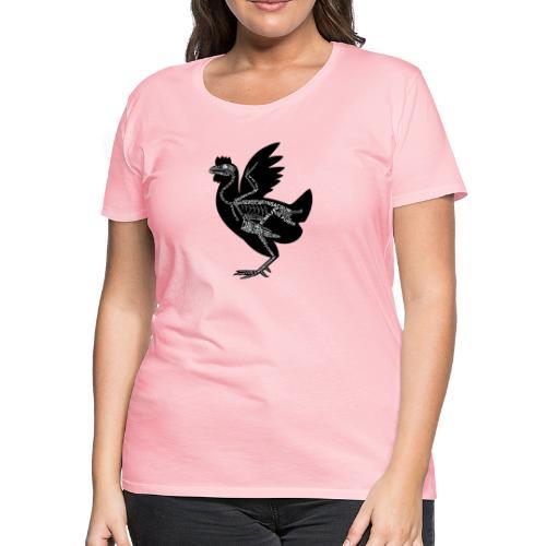 Skeleton Chicken - Women's Premium T-Shirt