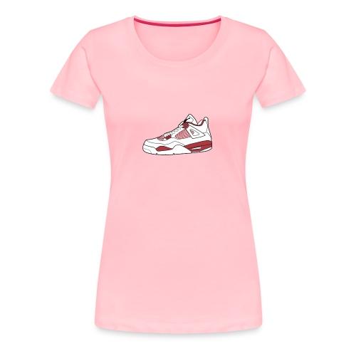 jordan 4 alt png - Women's Premium T-Shirt