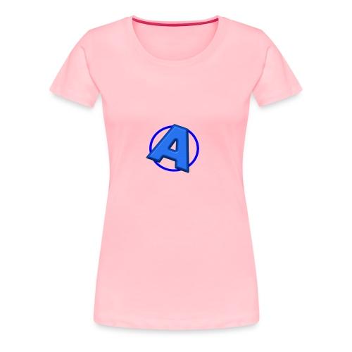 Awesomegamer Logo - Women's Premium T-Shirt
