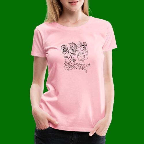 SickBoys Zombie - Women's Premium T-Shirt