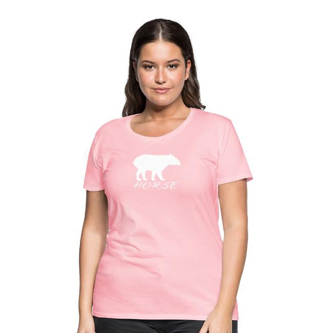 Tapir white design