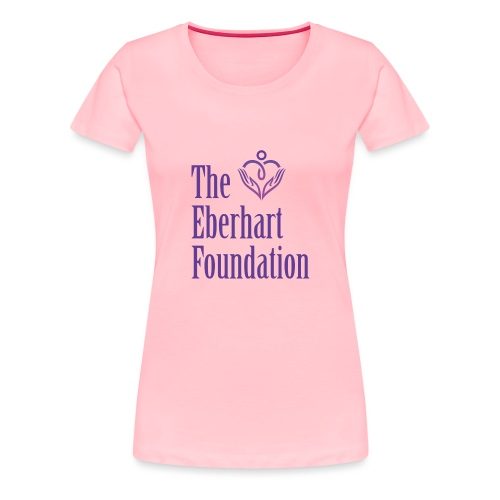 The Eberhart Foundation square logo color - Women's Premium T-Shirt