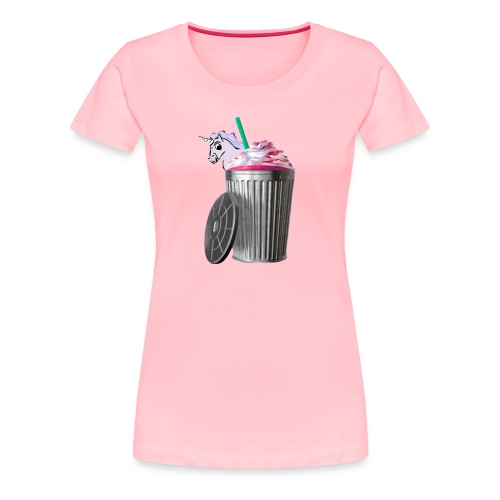 trash brigade unicorn - Women's Premium T-Shirt