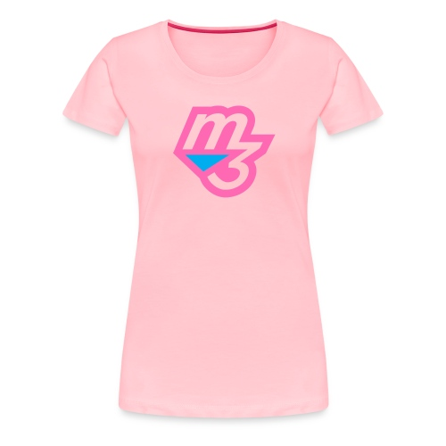 m3 forshirt photo pink png - Women's Premium T-Shirt
