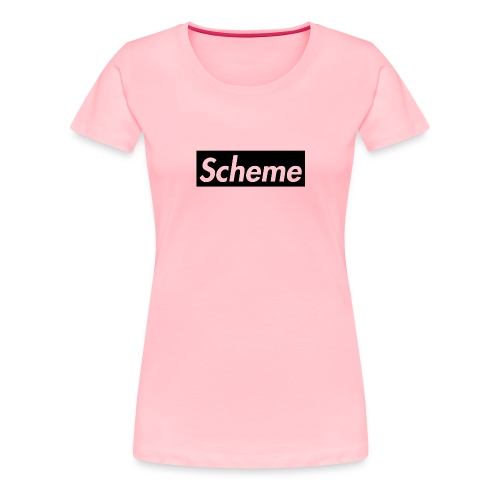 Supreme Scheme black - Women's Premium T-Shirt