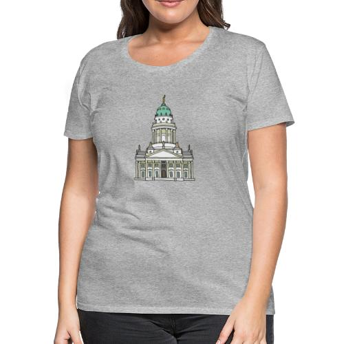 French Cathedral Berlin - Women's Premium T-Shirt