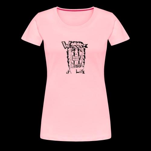 Warrior of Life - Women's Premium T-Shirt