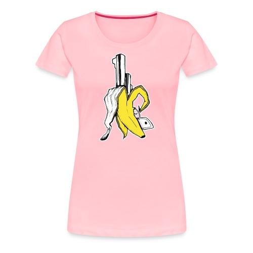 Banana Gun! - Women's Premium T-Shirt