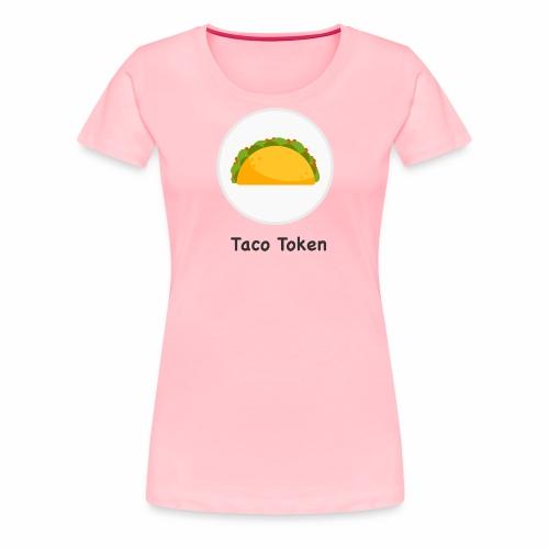 Taco White - Women's Premium T-Shirt