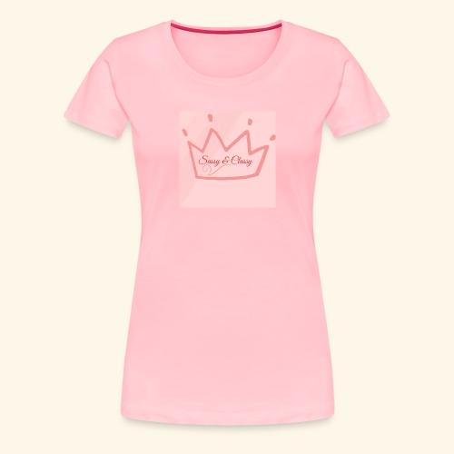 SassyClass - Women's Premium T-Shirt