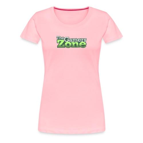THE GAMERS ZONE - Women's Premium T-Shirt