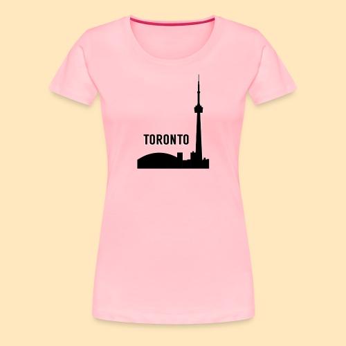 Toronto Skyline - Women's Premium T-Shirt