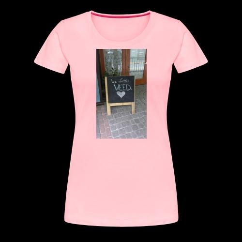 Marijuana lovers - Women's Premium T-Shirt