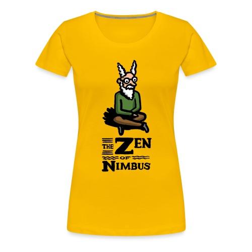 The Zen of Nimbus t-shirt / Nimbus color with logo - Women's Premium T-Shirt
