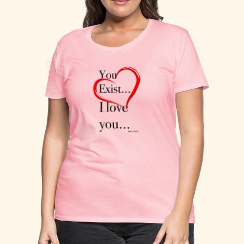 Exist - Women's Premium T-Shirt