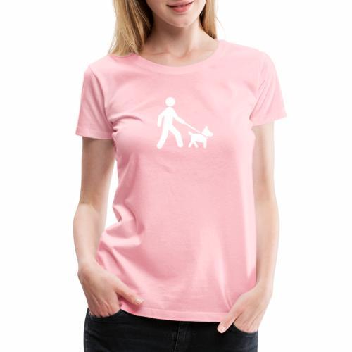 Walk the dog - Women's Premium T-Shirt