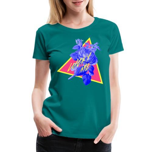 neon flower - Women's Premium T-Shirt