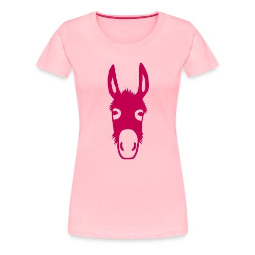 donkey mule horse muli pony - Women's Premium T-Shirt