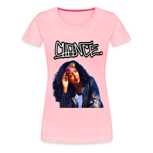 Chance Portrait - LIMITED EDITION - JMMS RECORDS - Women's Premium T-Shirt