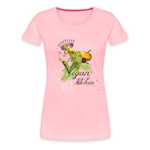 Queen vegan kitchen - Women's Premium T-Shirt