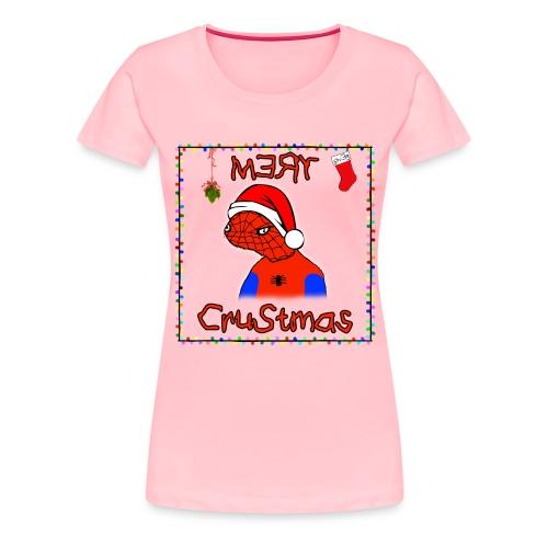 Mery Crustmas - Women's Premium T-Shirt