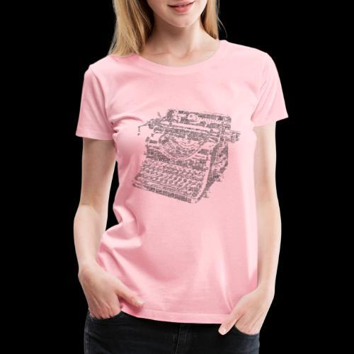 Typewritten Logophile - Women's Premium T-Shirt