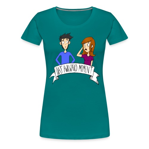 awkward moment design copy - Women's Premium T-Shirt