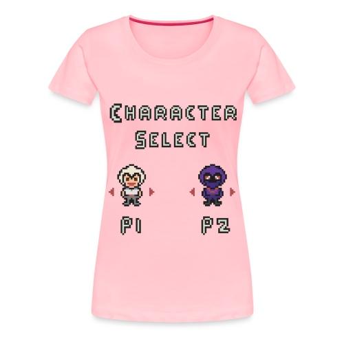 Character Select - Women's Premium T-Shirt