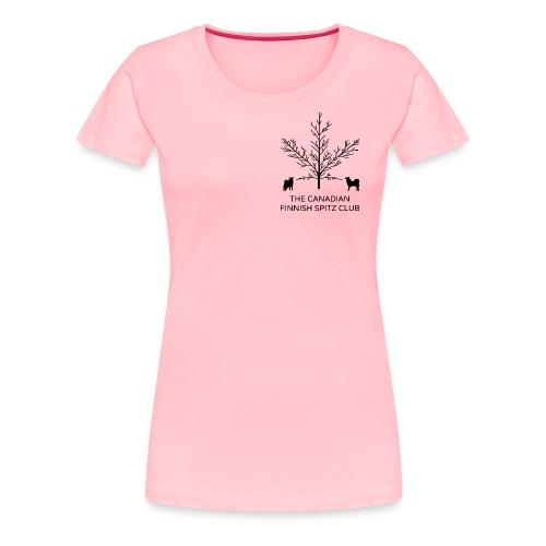 CFSC Logo vertical black png - Women's Premium T-Shirt