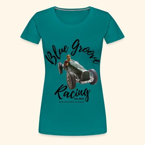 Blue Groove Racing Est 2020 - Women's Premium T-Shirt