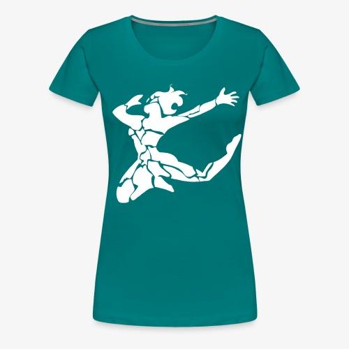 Synapse Arts logo dancer - Women's Premium T-Shirt
