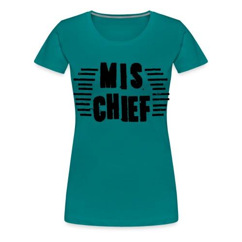 MISCHIEF SCRATCH - Women's Premium T-Shirt