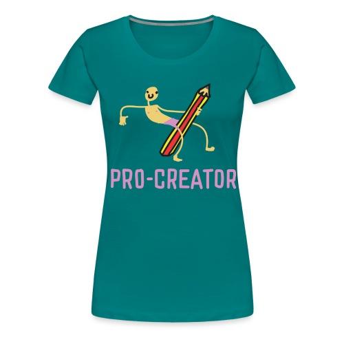 Pro Creator - Women's Premium T-Shirt