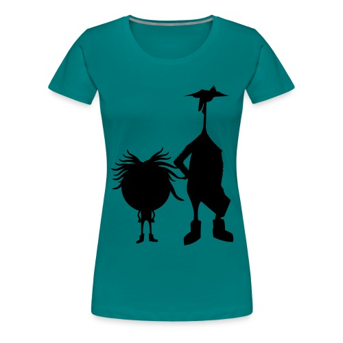 Official The Chicken and The Egg Design - Women's Premium T-Shirt