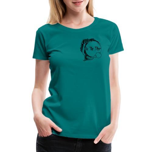 In The Deep Lyric Shirt - Women's Premium T-Shirt