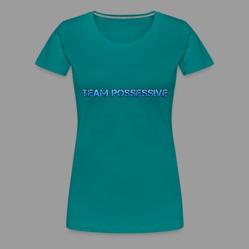The Possessive Broadcast - Women's Premium T-Shirt