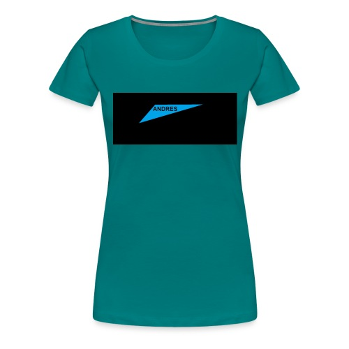 Andres like a boss - Women's Premium T-Shirt