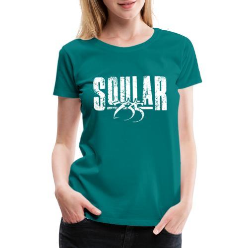 Soular235 White Logo - Women's Premium T-Shirt
