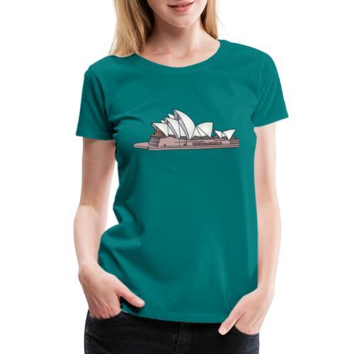 Sydney Opera House - Women's Premium T-Shirt