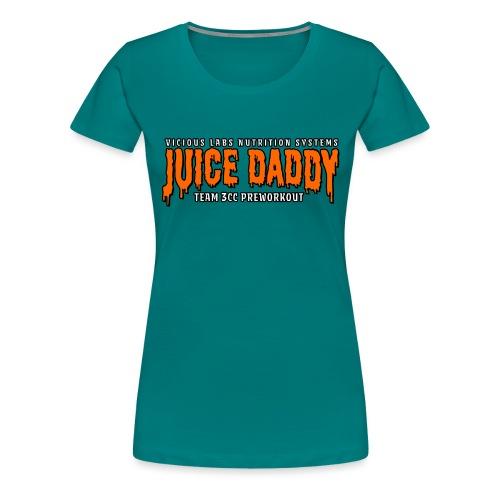 Juice Daddy Preworkout - Women's Premium T-Shirt