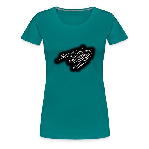 sv signature - Women's Premium T-Shirt