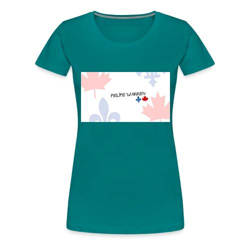 Logo do Canal - Women's Premium T-Shirt